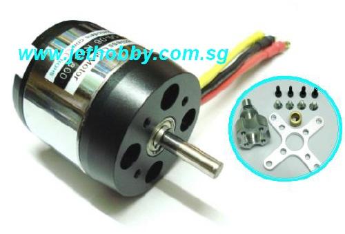 GS Outrunner BL Motor C50-65 335KV