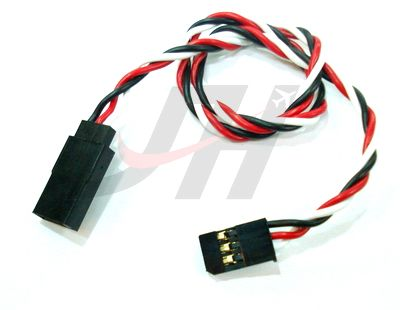 Heavy Duty Servo Extension Wire 60CM 22AWG (futaba)
