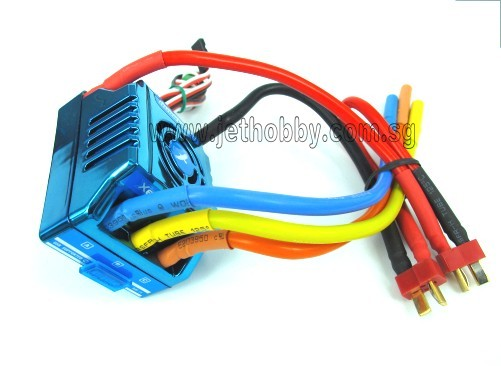 XERUN-150A-SD Brushless ESC for 1/8 Car (Competition Race)