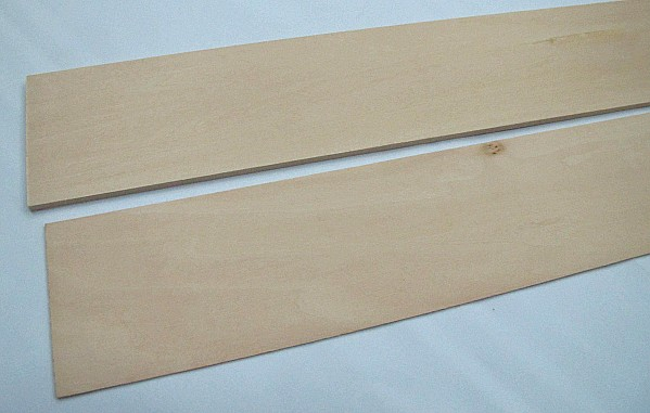 Basswood 1/4x3x24 inch