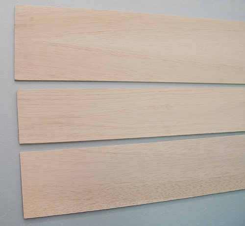 Balsa Sheet 2mm x W100 x L1000mm