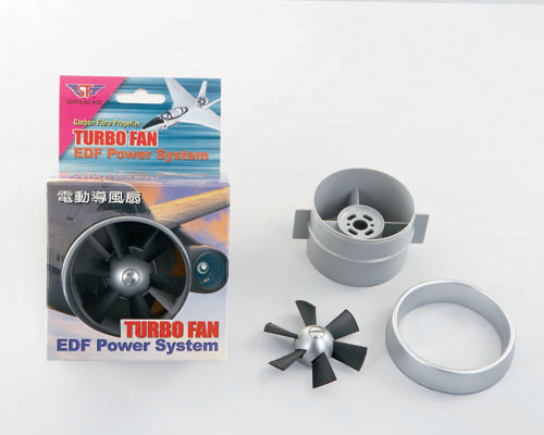 SF 68mm Turbo Ducted Fan (shaft 3mm)