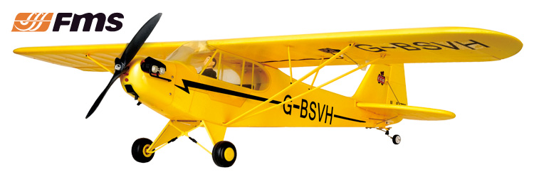 FMS 1.4M J3 Cub EPO (PNP)