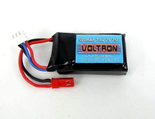 Voltron Li-Polymer Battery 500mAh/7.4V 35C 2cells