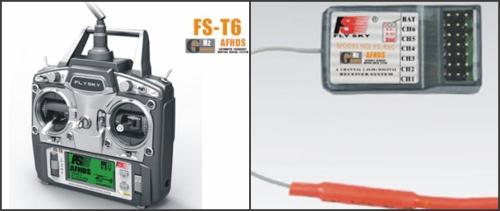 Flysky FS-T6 6ch Radio System w/Receiver