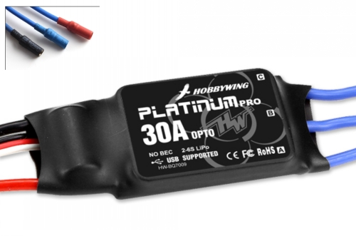Hobbywing Platinum-30A-OPTO-PRO ESC(432Hz)