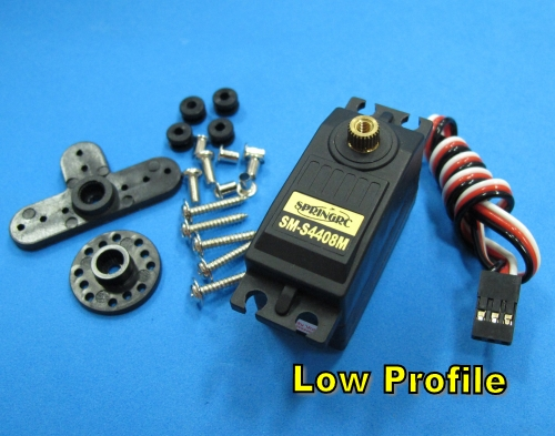SM-S4408M Digital Metal Gear Low Profile Servo water Resistance