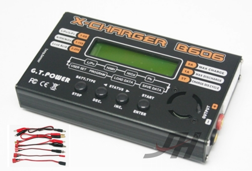 GT Power X-Charger B606 1-6S Lipo Balance Charger