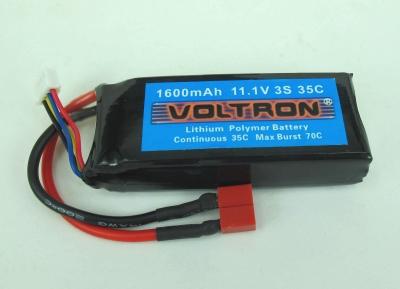 Voltron Li-Polymer Battery 1600mAh/35C 11.1V 3Cells