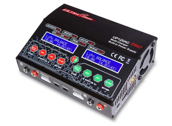 UltraPower UP120AC DUO 1-6S 120W & 100W AC/DC Balance Charger