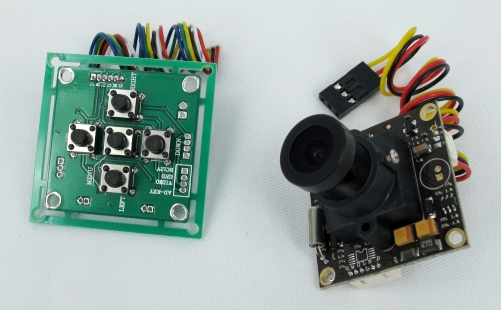 Sony CCD 700TVL FPV Camera with/OSD