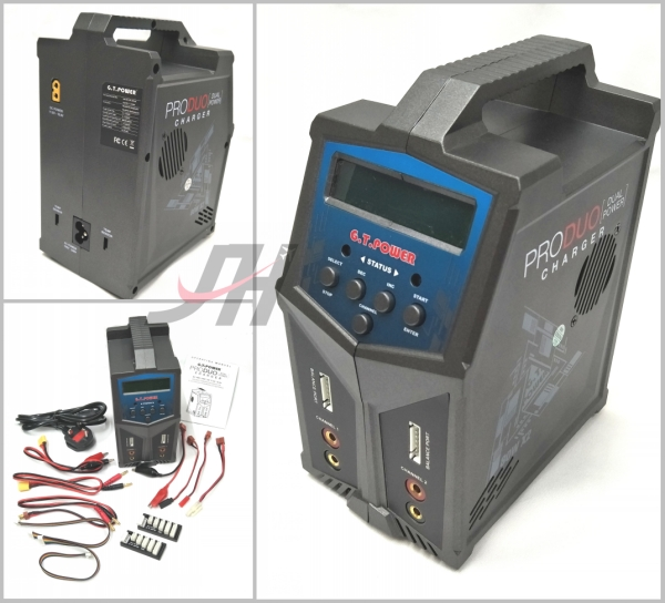 GT Power PRODUO 80W X2 7A Dual Power Charger